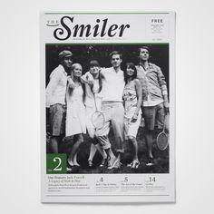 the smiler #magazine #newsletter #cover