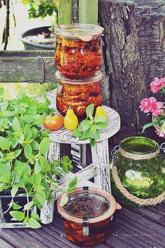 Smaki Alzacji : Pieczone pomidory w oliwie palce lizać! Blog, Marmalade, Blogging