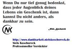 SONDERAKTION bis Nikolaus: Der Online-Kurs in Dankbarkeit statt 27 nur 17€! http://www.dankbarkeit.nielskoschoreck.de/ * #Dank #Dankbarkeit