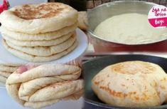 Воздушные и мягкие – настоящая фантастика: вместо хлеба делаю теперь лепешки под названием «базлама» - Ok'ейно.top #рецепты #хлеб  #лепешки #готовить #базлама Toasted Ravioli, Pizza Cake, Food Tags, Healthy Grilling, Breakfast Smoothies, Kefir, Baking Recipes, Bakery, Good Food