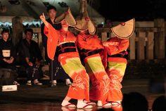 おわら風の盆 Japanese Celebrations, Matsuri Festival, Toyama, Japanese Culture, Love Songs, Kimono, Rising Sun, Elegant, Celebrities