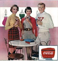 ♥ Coca Cola | Coke Retro advert | Enjoy Coke