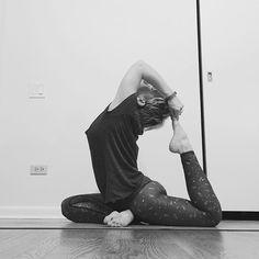 Slow down and everything you are chasing will come around and catch you... #slowyoga #yoga #yogamom #practiceeverydayin2016 #igyoga #igyogafam #igyogacommunity #kingpigeon