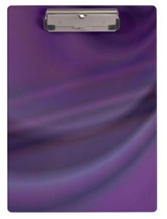 Purple abstract clipboard $34.20