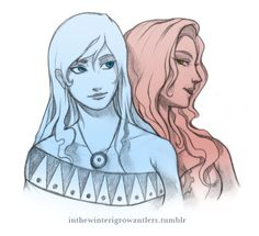 by inthewinterigrowantlers:  Korra and Asami. All dressed up for a night out.