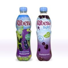 Aesop's Ribena Light packaging (shown on the right)
