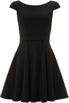 Little black dress. Like sleeves and neckline. But maybe not the wavy-ness of skirt.