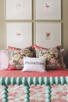 Elsa's Sophisticated Flamingo Bedroom — My Room | Apartment Therapy