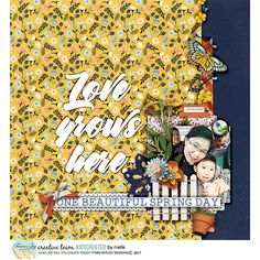 #joycreated with HOPPY SPRING page kit| by ForeverJoy Design http://the-lilypad.com/store/HOPPY-SPRING-PAGE-KIT.html