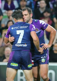 Cameron Smith, Cooper Cronk - Cooper Cronk Photos - NRL Rd 3 - Melbourne v Cronulla - Zimbio Athletic Supporter, Athletic Men, Hot Rugby Players, Sports Mix, Fantasy Art Men, Rugby Men, Photography Poses For Men, Rugby League, Sport Shorts