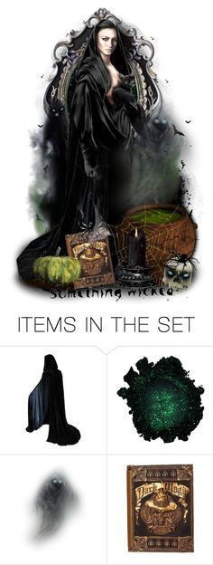 """""""🕸Something Wicked🕷"""" by cindu12 ❤ liked on Polyvore featuring art"""
