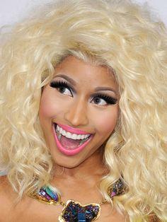 De beautylook van Nicki Minaj