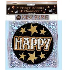 Nytårsbanner   pynt op til Nytår   banner   Happy New Year Banner #newyear #happy #pynt