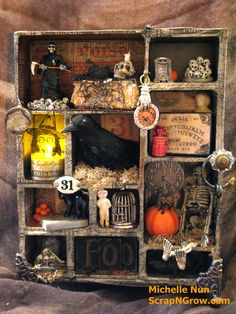 Halloween Configurations Shadowbox