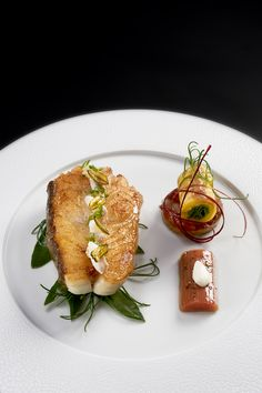 Roasted fillet of wild Turbot by Chef Briffard @ Le Cinq