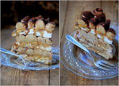 PIN - UP CAKE: Tort bezowy Tiramisu Pavlova Cake, Tiramisu, Pin Up, Pie, Sweets, Cheese, Baking, Polish, Recipes