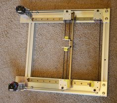 My coreXY design is progressing to the build stage