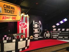 At the Movies Set Design Good for kids/youth.
