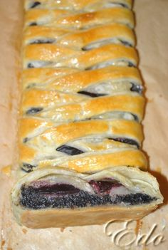 Puff Pastry Recipes, Hungarian Recipes, Strudel, Sweet And Salty, Winter Food, Nutella, Sushi, Food And Drink, Sweets