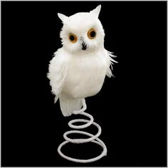 Owl tree snowy owl and tree toppers on pinterest