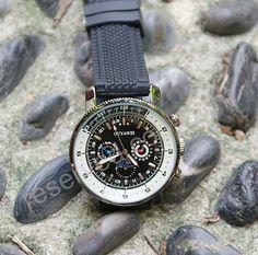 Mechanical Watch Men's wristwatches Steampunk by pyramidboutique, $55.00