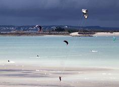Un stage de kite surf (1 semaine entre st lunaire et lancieux)