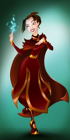 Disney Princess Auditions- Azula - Final score- 10/100. Comments: Unable to fully commit to a dainty pose. Laugh seems somewhat forced and maniacal. Did not get along with other applicants. Scary.