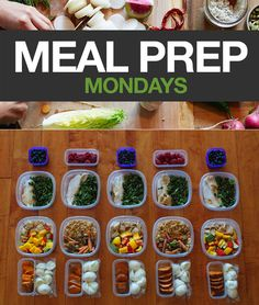 Every weekend, Social Media Specialist Amanda Meixner preps her meals and shares her photos. It reminds us that meal planning doesn't have to be hard and should actually be fun. So we're going to start posting them to provide some motivation. #cooking #mealprep #mealprepmondays