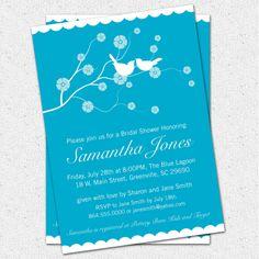 Printable Bridal Shower Invitation Cherry Blossom by OhCreativeOne, $16.00