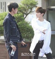 Wei (Lee Jinhyuk) x Wooshin (Kim Wooseok) Love K, Funny Kpop Memes, Read News, Asian Boys, Handsome Boys, Daddy, In This Moment, Wattpad, Couples