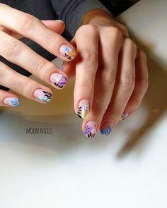 Installation of acrylic or gel nails - My Nails Natural Nail Designs, Flower Nail Designs, Nail Art Designs, Nails Design, Spring Nails, Summer Nails, Cute Nails, Pretty Nails, Mexican Nails