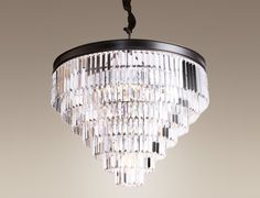 Maxlight Lampa wiszaca San Francisco - 40cm - P0167 : Sklep internetowy Elektromag Lighting #crystal #lamp #chandelier