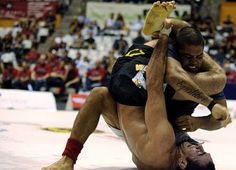 Andre Galvao Vs Braulio Estima. Inverted Triangle