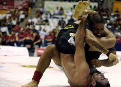 Andre Galvao Vs Braulio Estima. Inverted Triangle