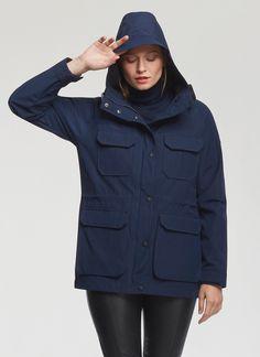 Penfield.com    Wmns Kasson Navy Jacket