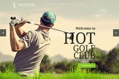 Responsive template, based on clean code, and powered by Sparky Framework for Joomla. Themes Photo, Web Themes, Joomla Themes, Site Down, Professional Website, All The Colors, Golf, Templates, How To Plan