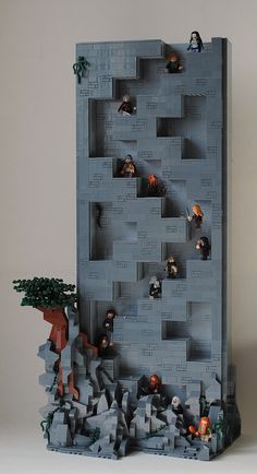 Hidden Stairs to Erebor   by Legopold