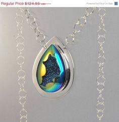Wedding Sale Druzy Necklace  Druzy Pendant by TheJewelryGirlsPlace, $99.96