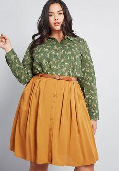 49 Cute Plus Size Winter Fashion Ideas - Plus Size Skirts - Ideas of Plus Size Skirts Curvy Outfits, Modest Outfits, Modest Fashion, Plus Size Outfits, Fashion Outfits, Fashion Ideas, Women's Fashion, Trendy Plus Size Coats, Look Plus Size