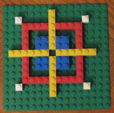 Legos are a fantastic way to teach symmetry in math. The kids will have a blast playing with toys while learning.