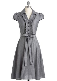 Ahhh, got on sale! About the Artist Dress in Grey, #ModCloth #bought #sale