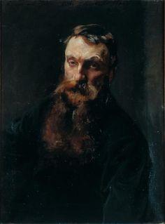 Portrait of Rodin / John Singer Sargent / 1884 / oil on canvas