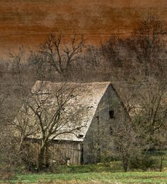 Old Barn - My dream is to one day own a bunch of property and to have an old barn like this and a creek running through my property.