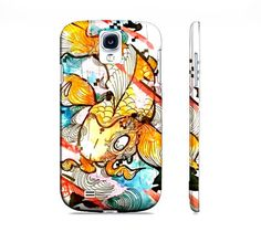 Galaxy s4 case  Koi fish art  Japanese art  by ArtOfPrincessM