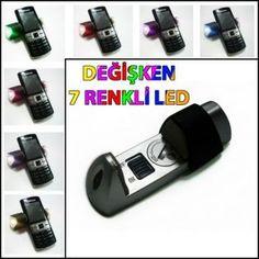 7 renk Led Işıklı Telefon Tutacağı