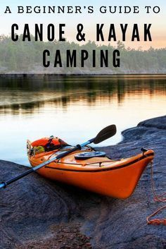 Canoe and Kayak camping can be an amazing adventure. Here we show you how to pla… Canoe and Kayak camping Kayak Camping, Camping Hacks, Camping Checklist, Camping Activities, Outdoor Camping, Camping Essentials, Camping Guide, Camping Trailers, Beach Camping