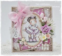 Tilda with Ballet Shoes via tabbycraftdesigns.blogspot.com