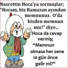 Nasrettin Hoca :-)