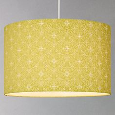 Buy John Lewis Cummersdale Drum Shade Online at johnlewis.com in Citrine. Also in lamp fitting. £30 for 30cm, £40 for 40cm