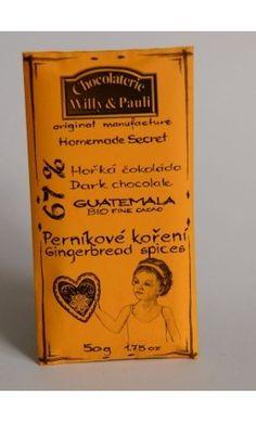 BIO Hořká čokoláda Guatemala s perníkovým kořením Spices, The Originals, Spice